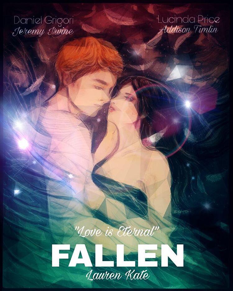 Fallen Lauren Kate Fanart by Ena Beleno
