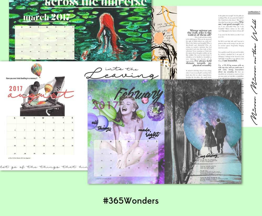 Woman, Create 365 wonders 2017 Planner