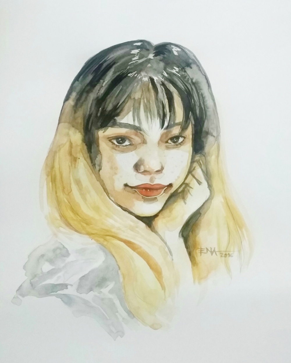 Ena Beleno 26th Birthday Self Portrait