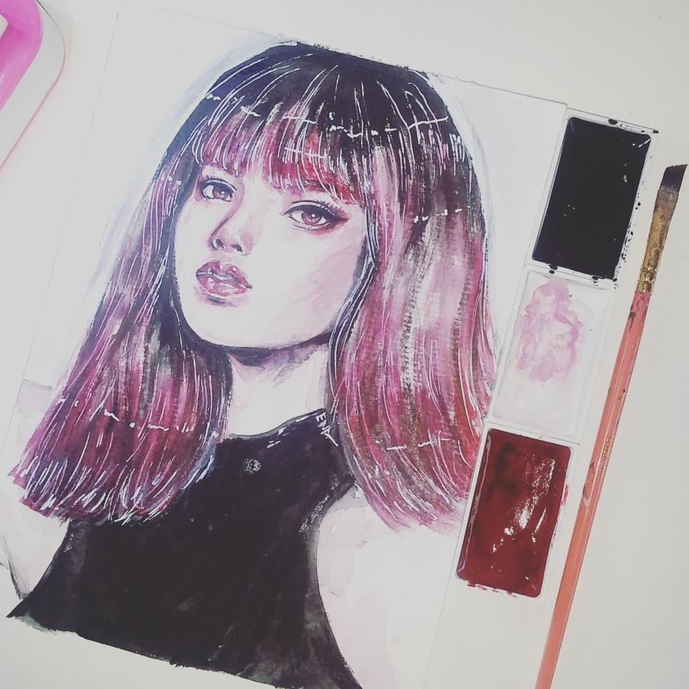 Ena Beleno Artworks YG Blackpink