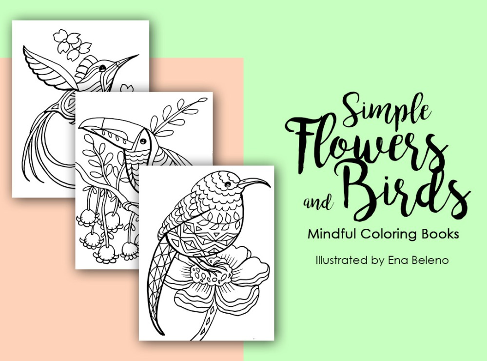 Coloring Book by Ena Beleno