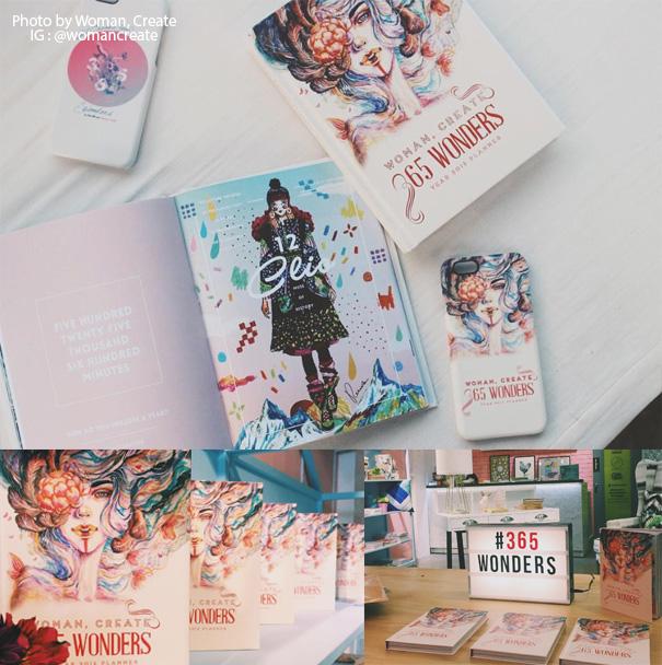 Ena Beleno Artworks Woman Create 2016 Planner