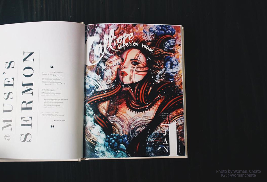 Ena Beleno Artworks Woman Create 2016 Planner