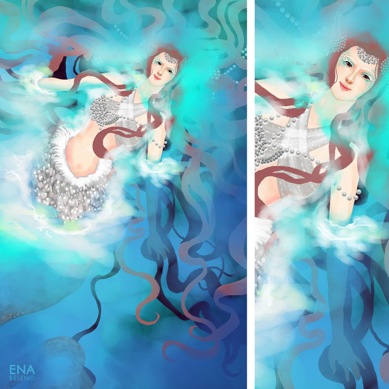 Fantasy Illustration Digital Painting by Ena Beleno