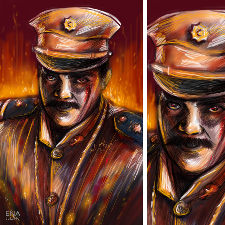 Heneral Luna Fantasy Illustration Digital Painting by Ena Beleno