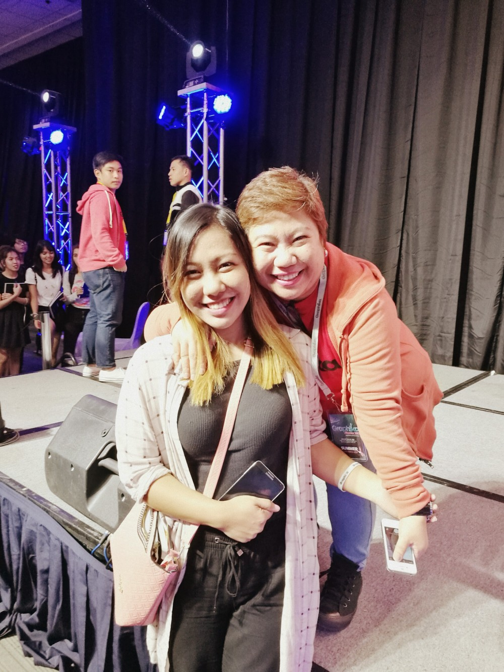 With Summer Santos - Graphika Manila 2017