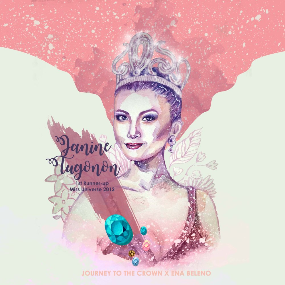 Miss Universe Philippines Fanart by Ena Beleno