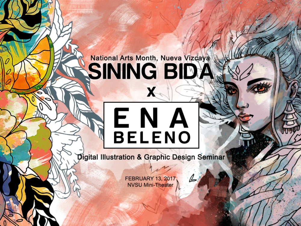 Ena Beleno Illustration and Graphic Design Seminar for National Arts Month