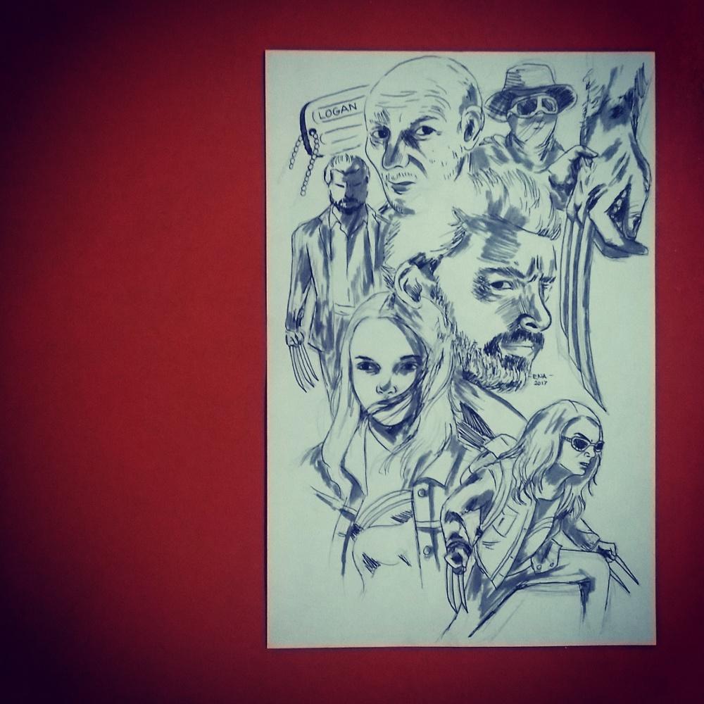 Logan Wolverine Fan Art
