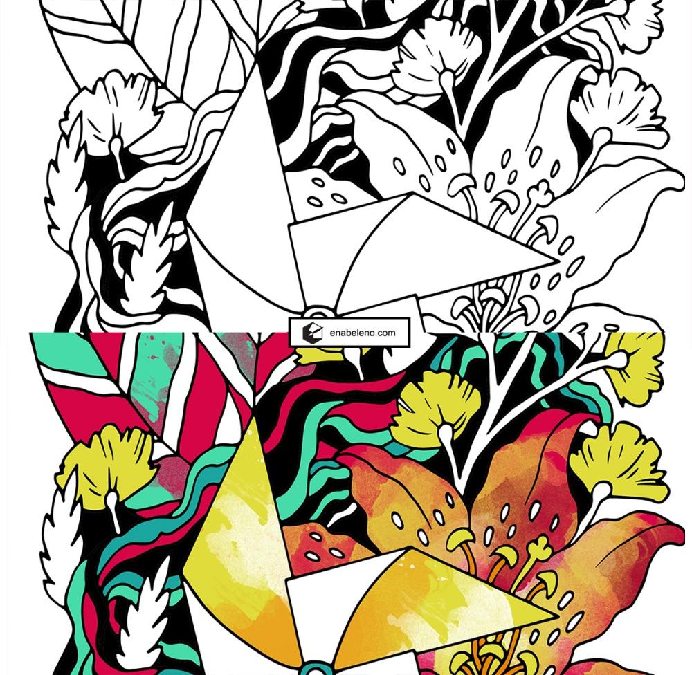 Anita's Good Design Summer Illustration