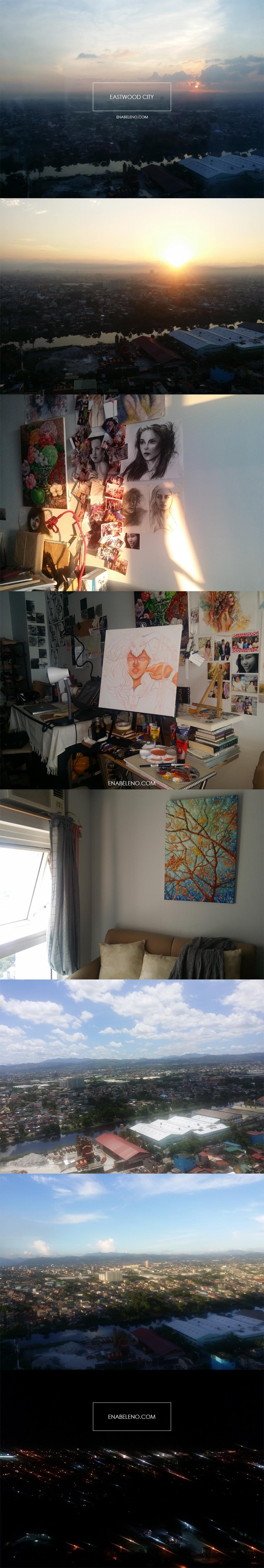 Painting Wprk space in Eastwood City by Ena Beleno