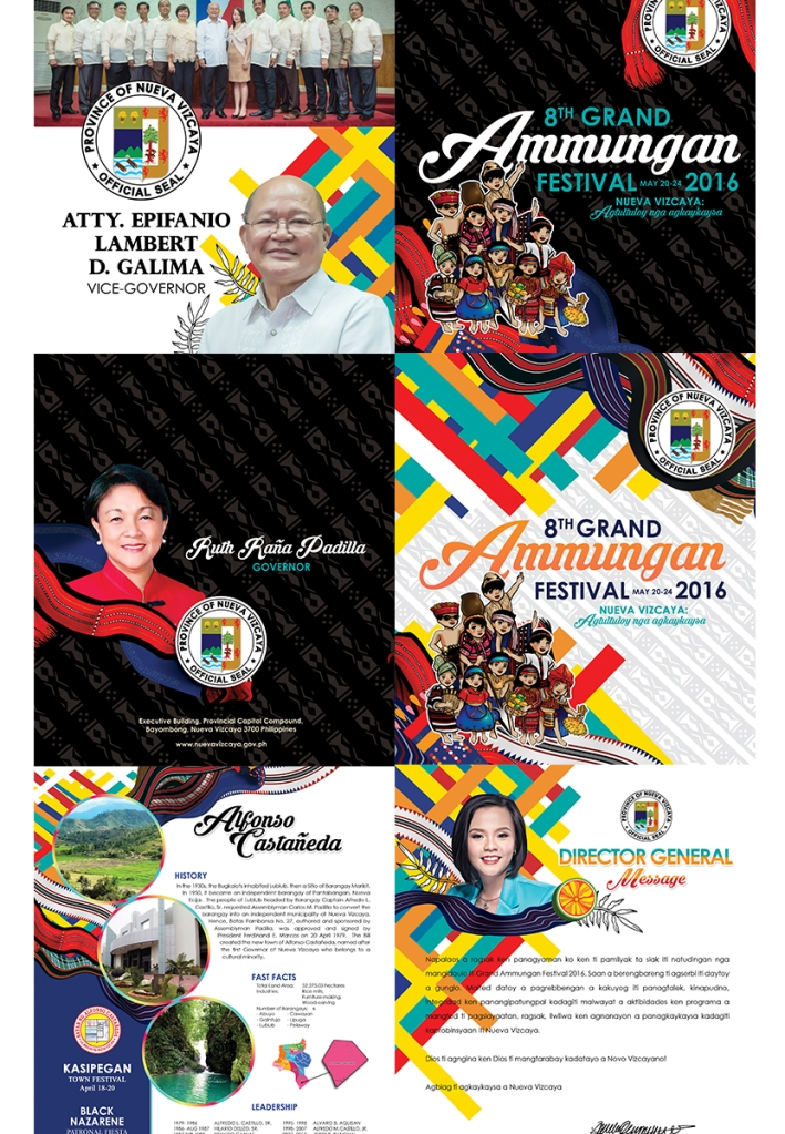 Ammungan 2016 Souvenir Program by Ena Beleno
