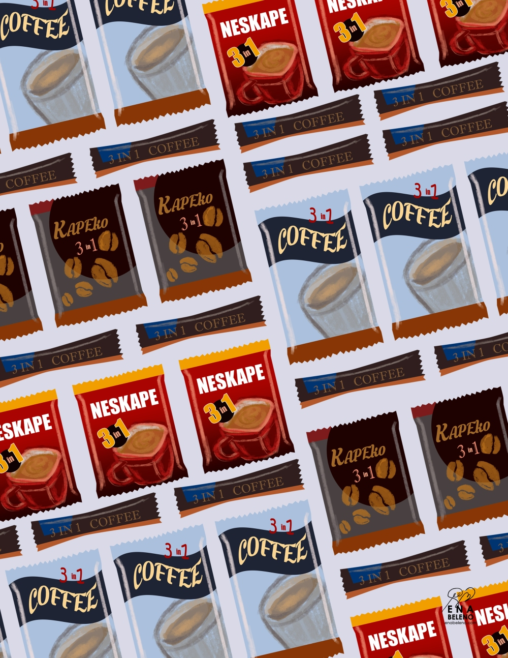 personal project 3 in 1 coffee brands