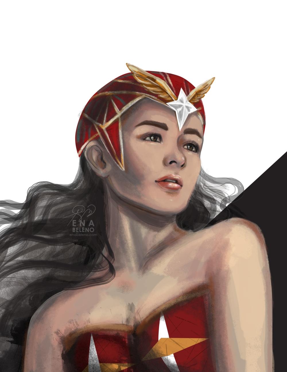Liza Soberano Darna 2017 Concept Art by Ena Beleno