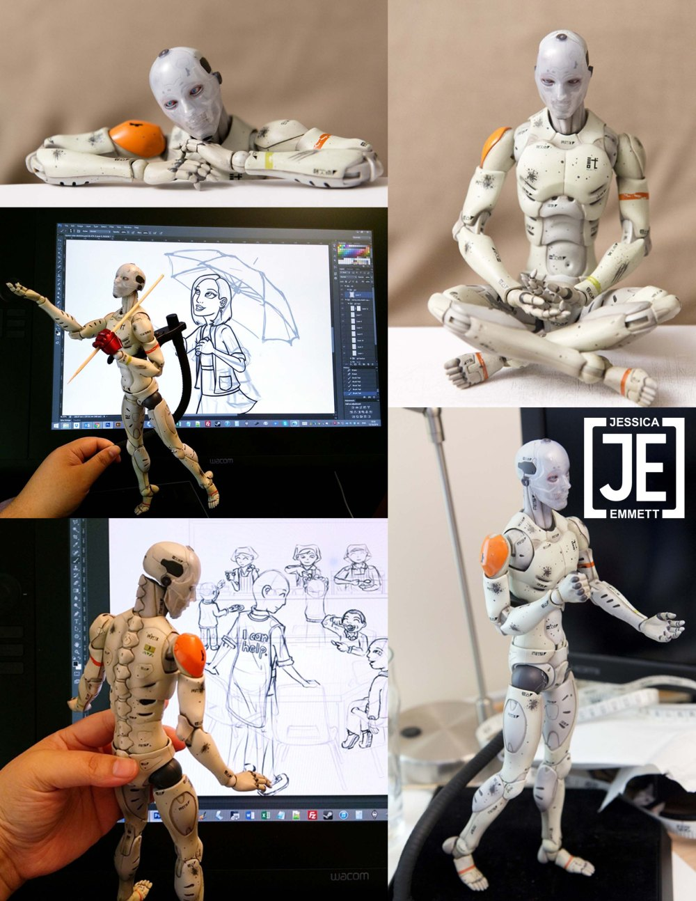 1/6 Synthetic Human Test Body