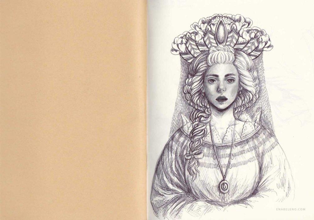Ena Beleno Sketchbook