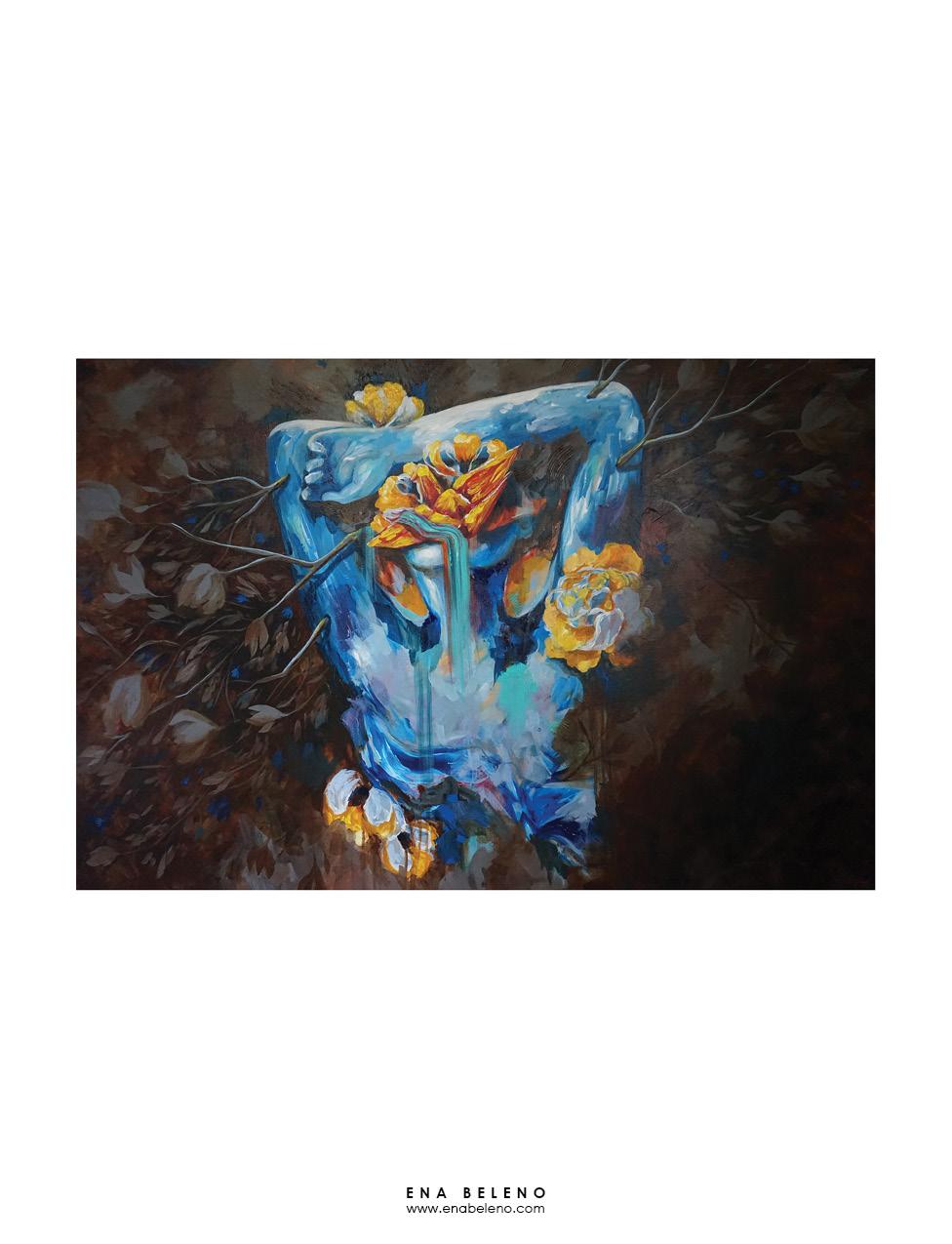 Ena Beleno painting