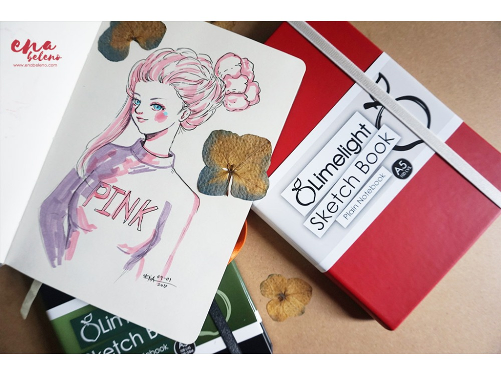 Limelight Sketchbook review by ena beleno