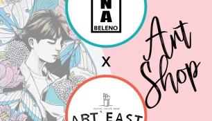 Artstore Art East Cafe X Ena Beleno